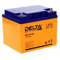 HR 12-40 (Delta) Аккумулятор 12В; 40 Ач, AGM