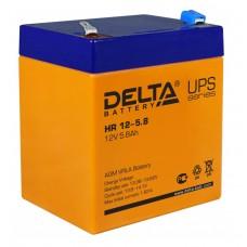 HR 12-5.8 (Delta) Аккумулятор 12В; 5.8 Ач, AGM