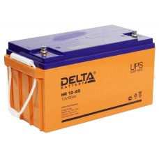 HR 12-65 (Delta) Аккумулятор 12В; 65 Ач, AGM
