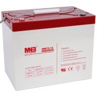 MM 75-12 (MNB) Аккумулятор AGM, 12В, 75Ач