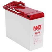 """MR 55-12FT (12В, 55А*ч) Фронттерминальный AGM аккумулятор для 19"""" шкафа"""