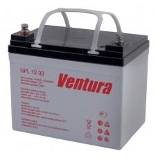 GPL 12-33 (Ventura)  Аккумулятор 12В; 33Ач; AGM