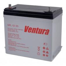 GPL 12-55 (Ventura)  Аккумулятор 12В; 55Ач; AGM