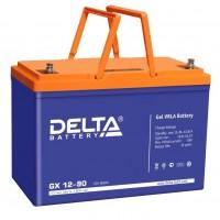Delta GX12-90 (12В; 90А*ч) Гелевый аккумулятор