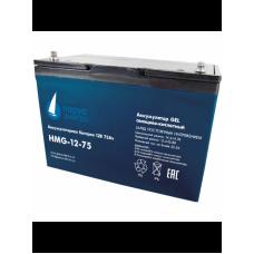 HMG-12-75 (12В; 75 А*ч) Гелевый аккумулятор