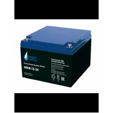 HMW-12-24 (12В; 24 А*ч) Аккумулятор AGM