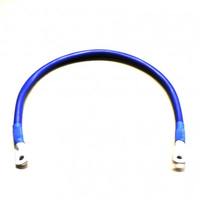Перемычка аккумуляторная 0,5м,  50мм2, М8 (синий)