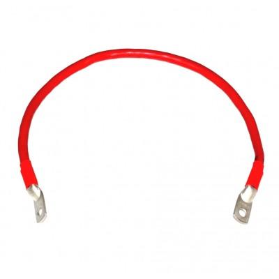 Перемычка аккумуляторная 0,5м,  50мм2, М8 (красный)