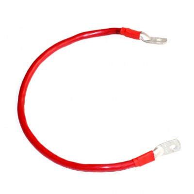 Перемычка аккумуляторная 0,7м,  50мм2, М8 (красный)