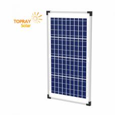 TPS-107S(36)-30W солнечный модуль поликристалл 30 Вт TOPRAY Solar